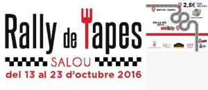 Imatge de marca del Rally de Tapes de Salou