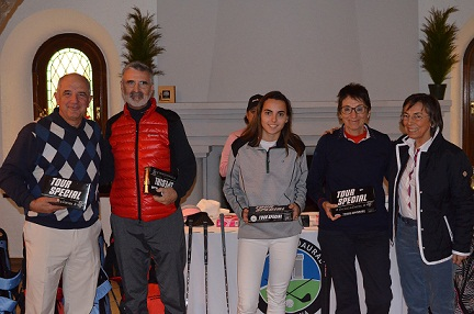 El Trofeu Pink Loop 2018 reuneix 63 participants al Golf Costa Daurada Sports Center