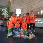 El CF Icomar col·labora al XVII Torneig Solidari de Nadal 'Futbol base-DOW' amb recollida de joguines