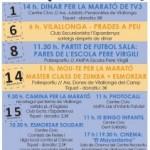 Vilallonga del Camp amb La Marató de TV3