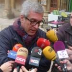 Ballesteros 'amenaça' a prendre mesures si abans del juny les obres de Ca l'Ardiaca no tiren endavant