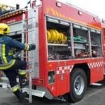 Cinc persones intoxicades per la mala combustió d'un braser a Salomó