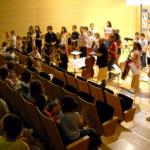 La jove violinista Inés Issel, en directe a Salou