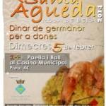 Roda de Berà celebrarà Santa Àgueda amb dinar de germanor per a dones