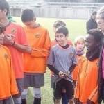 Clou el Campus de Nadal del Nàstic amb la desfilada de jugadors i tècnics de primer nivell