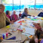 La Llar d'Infants i la Biblioteca de Roda de Berà col·laboren amb el centre de dia 'Marinada'