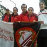 Ascens a Primera de l'equip júnior femení  del Club Tennis Tarragona