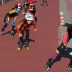 Bones sensacions al patinatge de velocitat del Nàstic als Jocs escolars catalans