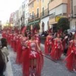 La Magnífica Rua desfila pels carrers de La Canonja