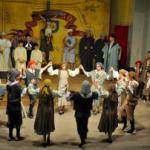 Josep Mercadé i Enric Vendrell visiten Salomó i el Ball Parlat del Sant Crist