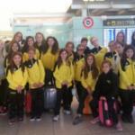 Prop de 300 nedadores participen al cinquè Open de Mediterrània de sincronitzada