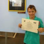 Un alumne de Creixell s'endú el primer premi del concurs escolar del Saló del Còmic