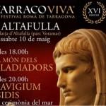 Altafulla entra de ple a Tarraco Viva aquest dissabte amb el ritual romà de la navegació