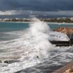 Prealerta pel fort onatge a la costa
