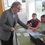 Josep Poblet afirma que aquest és l'inici d'una via cap a la llibertat en un 9N tranquil a Vila-seca