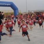 Primer cross solidari de l'Escola l'Agulla al Catllar