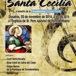 La Coral Santa Rosalia de Torredembarra organitza el Concert de Santa Cecília