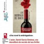 Torredembarra acull la presentació de 'Los discípulos de Baco', de Daniel García Giménez