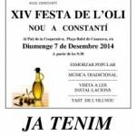 Festa de l'oli nou a Constantí