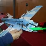 Exhibició d'avionetes en el darrer cap de setmana de Festa Major a Constantí