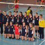 La selecció femenina de volei de Tarragona, al campionat de Catalunya