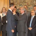 Felip VI visitarà Tarragona el pròxim mes de març per conèixer els Jocs Mediterranis