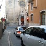 Tarragona col·loca sensors a la Part Alta per controlar el trànsit rodat