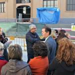 Els veïns del Mercat Central reclamen un debat ciutadà pel futur de la plaça Corsini