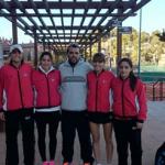 Els júnior del Tennis Tarragona, campions provincials