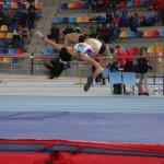 Maria Álvarez (CA Tarragona) es penja la plata al Català Júnior d'atletisme