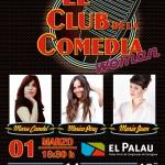 Tornen les Nits del Club de la Comedia Woman al Palau de Congressos