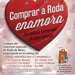 Torna la campanya comercial de Sant Valentí 'Comprar a Roda enamora'