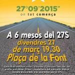 L'ANC i Omnium mouen fitxa i fan una convocatòria massiva a tots els ajuntaments de Catalunya per aquest divendres
