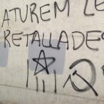 L'Ajuntament de Torredembarra denuncia 'nous atacs vandàlics' per unes pintades independentistes