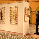 La vallenca Rosalia Pomés exposa els seus 'collages' inspirats en la natura a la Diputació