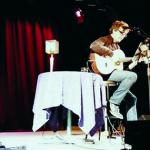 Pedro Guerra converteix la Violeta d'Altafulla en una àgora poètica