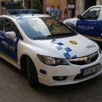 Campanya de control de l'ús del casc de la Policia Local de Torredembarra