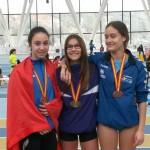 L'atleta del CA Tarragona, Mireia López, campiona d'Espanya
