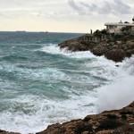 Alerta per pluges intenses, vent i fort onatge