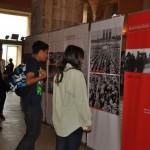 En marxa l'exposició sobre els camps nazis a Torredembarra