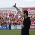 Vicente Moreno: «Torna a passar el tren i l'hem d'agafar, que no s'escapi»