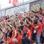 Uns 6.000 aficionats grana ja han recollit l'entrada pel partit decisiu al Nou Estadi