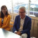 Ballesteros presumeix de tarragonisme a l'equador de la campanya