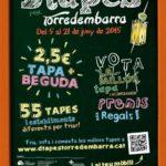Dtapes per Torredembarra torna del 5 al 21 de juny