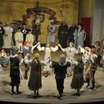 Salomó posa en escena el darrer Ball Parlat del Sant Crist de la temporada