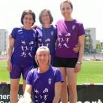 Els veterans del CAT aconsegueixen 13 medalles al Campionat de Catalunya