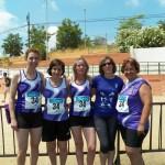 Les veteranes del CAT, cinquenes al Campionat de Catalunya de clubs