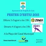 Activitats esportives per celebrar les festes de Vespella del Gaià