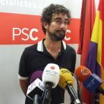 Carles Castillo es presenta a la militància del PSC amb una carta