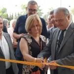 L'alcalde Jordi Llopart inaugura el nou mercat de Creixell